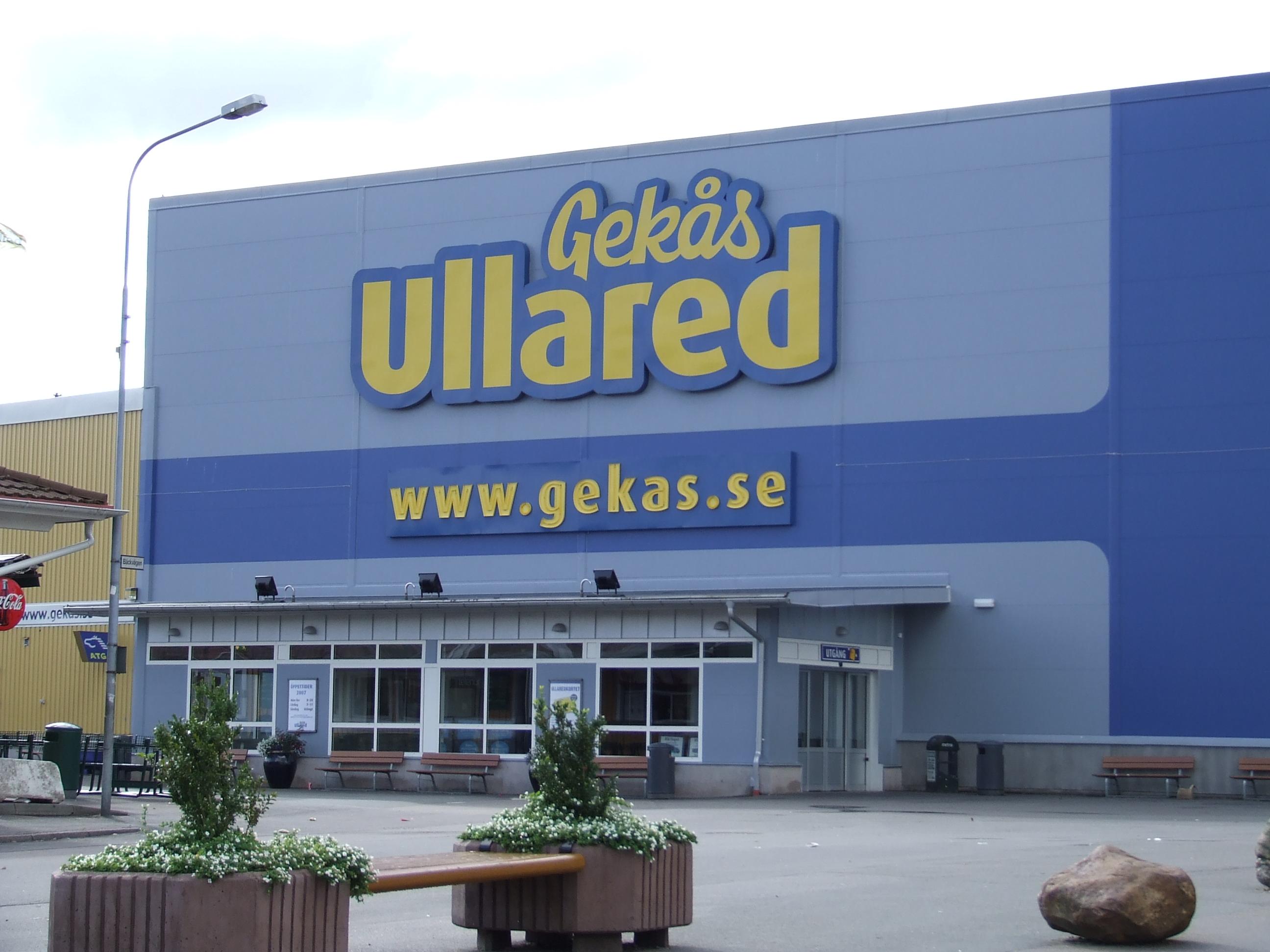 Gekås Ullared - Schwedens Einkaufsparadies